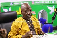 Sacked NDC member, Bernard Allotey Jacobs