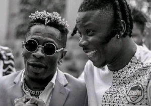 Shatta Wale endorses 'Anloga Junction album', calls Stonebwoy his 'blood brother'