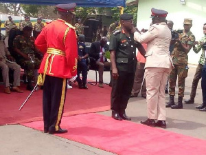 Major General William Azure Ayamdo, was succeed by Major General Thomas Oppong Peprah
