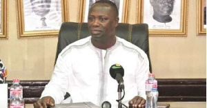 Mr Armah-Kofi Buah, Ranking Member of the Mines and Energy Committee