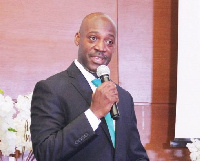 Albert Eyeson-Ghansah, CEO of Bedrock Insurance Company Limited
