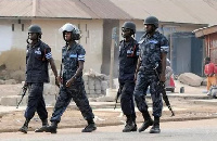 File photo - Ghanaian Police Officers