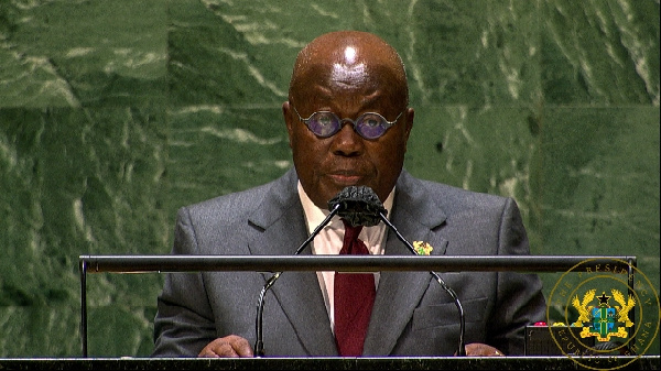 Ghana will defend democracy and constitutional rule – Akufo-Addo assures UN