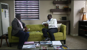 Mike Nyinaku, (R) CEO, The BEIGE Group