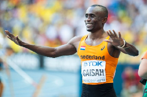 Former Ghanaian athlete, Ignisious Gaisah