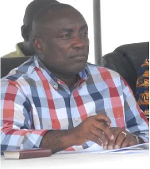 Suspended NPP General Secretary, Kwabena Agyapong
