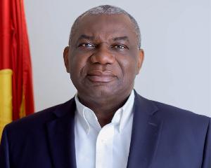 Boakye Agyarko, former Minister of Energy
