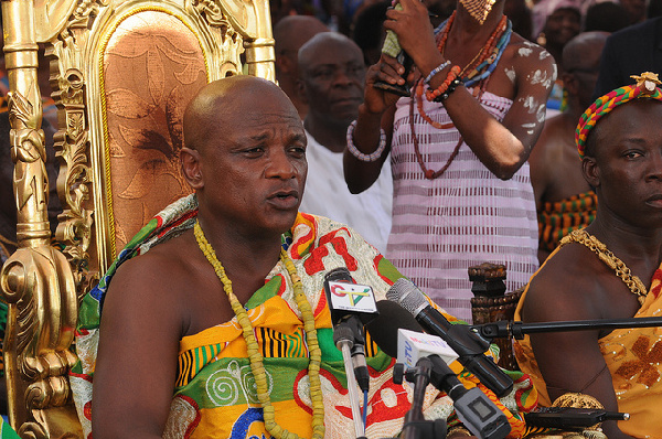 Togbe Afede IV, President- National House of Chiefs