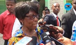 Cecilia Asabea Boateng, Headmistress of the Nungua Senior High School