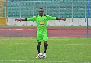 Asante Kotoko goalkeeper Ibrahim Danlad