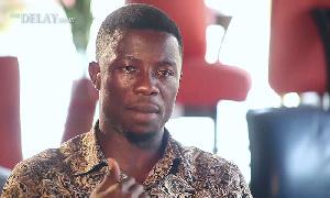Ghanaian actor, Kwaku Manu