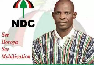 Ismaila Ali Horoya is NDC