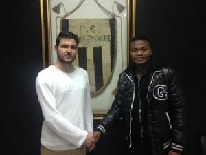 Albert Bruce has terminated his contract with Panegialios FC