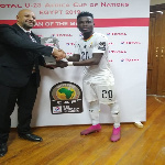 Evans Mensah was named Man of the Match after the thrilling 90-minute game