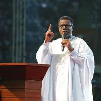 Pastor Mensa Otabil, founder and leader of the International Central Gospel Church