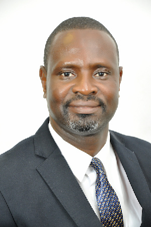 President of AGI, Mr. James Asare Agyei