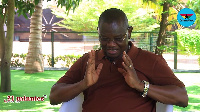 Sylvester Mensah is a presidential hopeful of the NDC