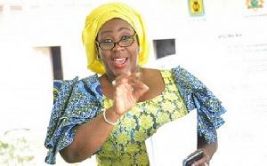 Sedina Christine Tamakloe Attionu, a former CEO of MASLOC