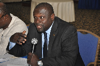 Dr. Mark Asibey Yeboah, Chairman of Parliament Finance Committee