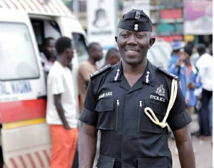 George Akufo Dampare has been appointed acting IGP effective August 1
