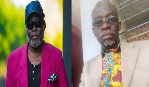 James Aboagye [R] had in an interview said FIPAG will use Kofi Adjorlolo [L] as a scapegoat