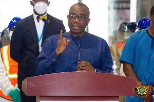 Yaw Kwakwa, Managing Director of the Ghana Airport Company Limited (GACL)