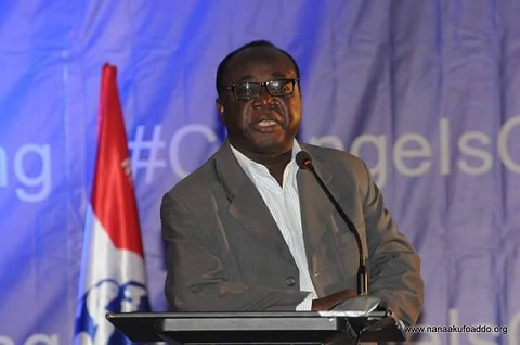 Freddy Blay, acting chairman of the New Patriotic Party