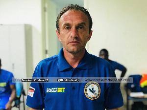 Berekum Chelsea Coach Svetislav Tanasijevic