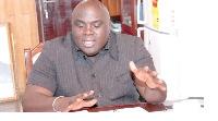 The Chief of Staff, Mr Julius Debrah