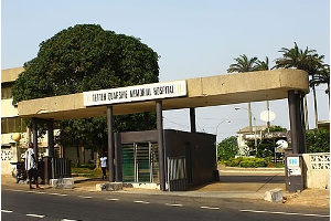 A cross-section of the Tetteh Quarshie Memorial Hospital