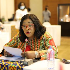 Minister-designate for Foreign Affairs and Regional Integration, Shirley Ayorkor Botchwey