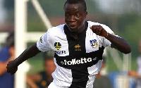 Ghana midfielder Rahman Chibsah