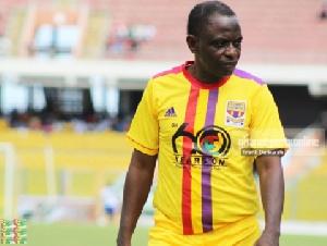 Former Ghana international Mohammed Polo