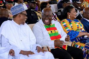 Happy Akufo Addo Buhari