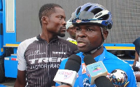Prosper Agbo, Winner of 2018 Cowbell Cycling Challenge