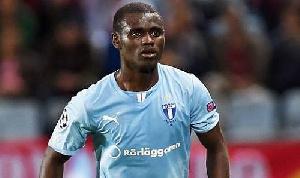 Ghana midfielder Enock Adu Kofi
