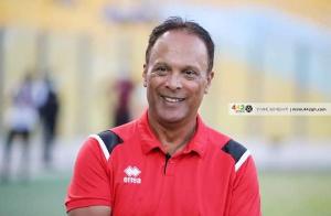 Kotoko coach Mariano Bareto
