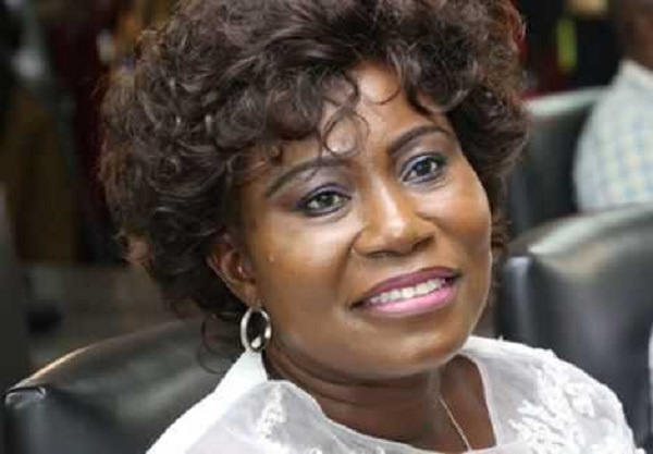 Member of Parliament (MP) for Krower Constituency, Hon. Elizabeth Afoley Quaye