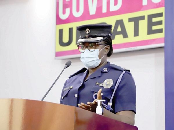Police Director of Public Affairs, Superintendent Sheilla Kessie Abayie-Buckman