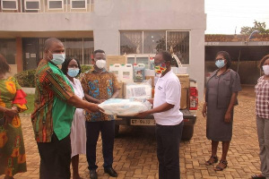 The items are to help fight the coronavirus