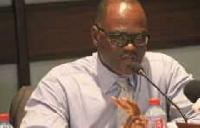 FIFA/CAF liaison team leader, Dr. Kofi Amoah