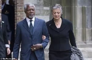 Kofi Annan Wife
