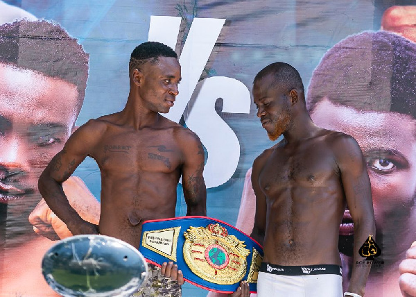 ACE Power Promotions Danger Zone: Boxers make weight for fights