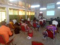 A cross section of participants during at the two-day workshop