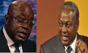 President Nana Addo Dankwa Akufo-Addo and Former President John Dramani Mahama