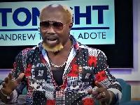 Ayitey Powers made the revelation on the 'TONIGHT' show