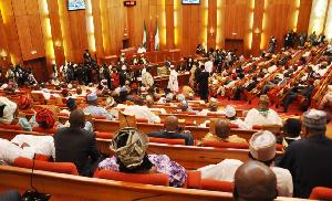 The Nigerian Senate Chamber