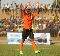 Kwame Baah is the first choice goalkeeper of the Black Meteors