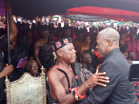 Vice President, Amissah-Arthur at funeral of late LT Colonel EKT Donkor