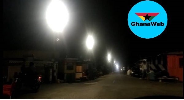 Street Lights fixed in Chorkor 4 months to elections